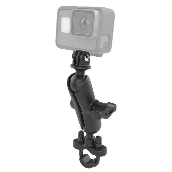 RAM Mount GoPro houder met U bout stangbevestiging