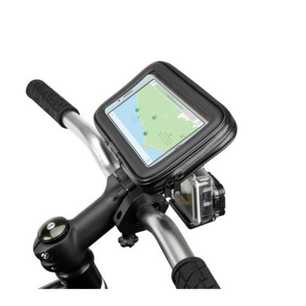 Scosche combinatie telefoonhouder en goprohouder fiets